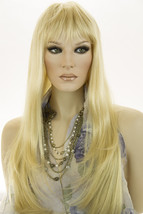 Light Pale Blonde Blonde Long Premium Remy Human Hair  Monofilament Stra... - $749.42