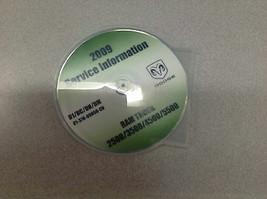 2009 DODGE RAM TRUCK 2500 3500 4500 5500 Service Shop Repair Manual CD - $197.98