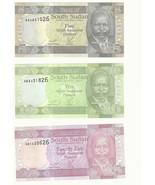 SOUTH SUDAN RARE PIASTER ERROR SET UNC BANKNOTES Identical Serial-5-10-25p - €58,70 EUR