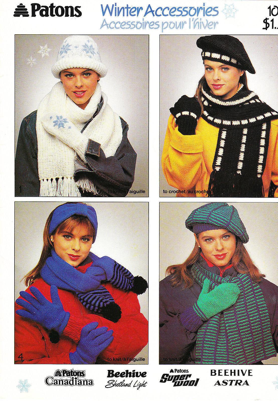 Patons Knitting Pattern: 130 listings
