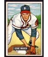 1951 BOWMAN #312 GENE MAUCH (RC) BASEBALL CARD- BOSTON BRAVES - $24.70