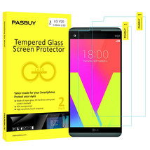 Screen Protector [2Pack PASBUY Retailbox] Tempered Glass for LG V20 - $5.83