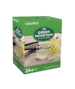 NEW Green Mountain Coffee Keurig K-Cup Pods French Vanilla Light Roast 2... - $16.05