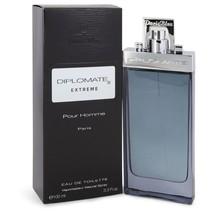Diplomate Pour Homme Extreme by Paris Bleu Eau De Toilette Spray 3.4 oz for Men  - $33.63