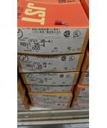 1000 Pack 22-16 Gauge Vinyl ring Crimp Terminals #8 4mm Stud FV1.25-4 RB... - $44.55