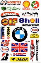 D473 Sponsor Sticker Decal Racing Tuning Size 27x18 cm / 10x7 inch - $3.49