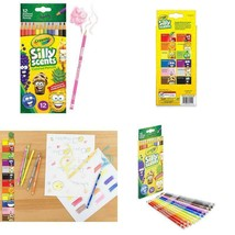 Crayola 68-2112  Silly Scent Pencils, Scented Colored Pencils, Gift For ... - $3.95