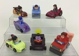 Wreck It Ralph 2 Ralph Breaks The Internet 7pc Lot Toy Cars Disney McDonalds A5 - $14.80