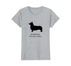 Pembroke Welsh Corgi Shirt - black silhouette - $19.99+