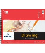 Art Pad Spiral Bound Drawing Artist Paper 14 x 17 Notebook 30 Sheets Sup... - $11.47