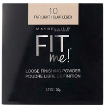 MAYBELLINE Fit Me Loose Finishing Face Powder Fair Light 0.7 oz (20 g) Shade 10  - $8.00