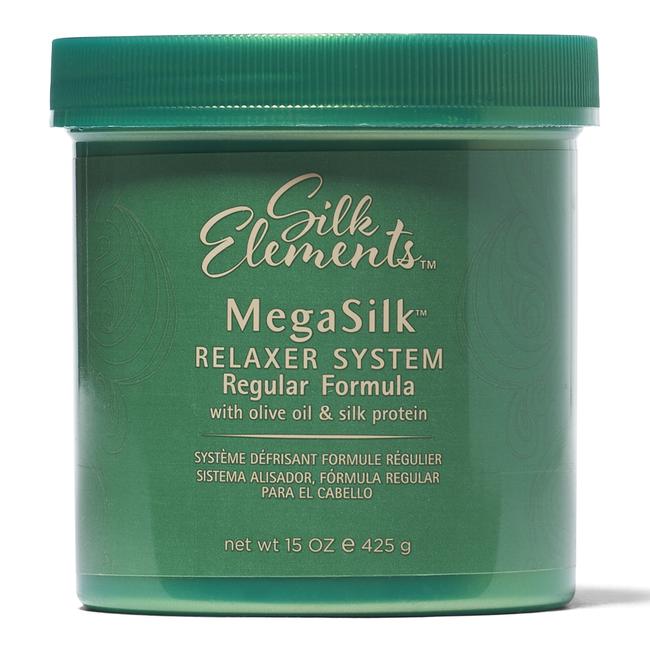 MegaSilk by Silk Elements Olive Oil Regular Relaxer 15oz