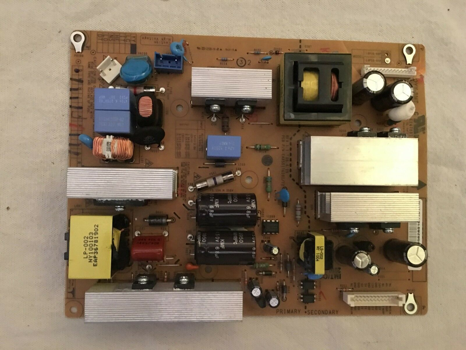 Primary image for LG POWER UNIT BOARD EAX55176301/12, FREE SHIPPING