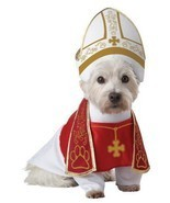 California Costumes Santo Hound Papa Cattolico Animale Domestico Cane Ha... - $17.98