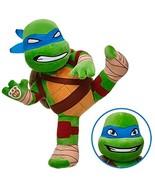 Build a Bear Leonardo Teenage Mutant Ninja Turtle TMNT Reversible Face 1... - $89.95