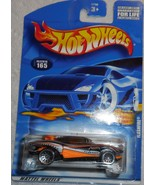 "2001 Hot Wheels Mattel Wheels ""Flashfire"" #165 Mint Car On Sealed Card - £2.54 GBP"
