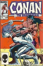 (CB-11) 1985 Marvel Comic Book: Conan the Barbarian #168 - $3.00