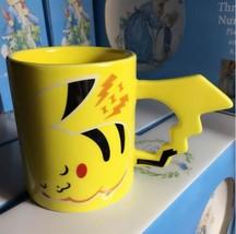Pokemon Pikachu Travel Coffee Mug Ceramic Coffee Milk Tea Cup Espresso Cups - $29.95