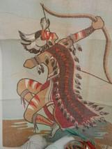Bucilla Needlepoint 4162 Warrior Canvas 18 X 22 Open Kit By Marie Caralli - $59.99