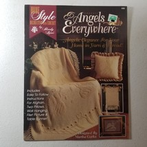 Crochet Angels Everywhere, Angelic Elegance for Your Home in Yarn & Thread - $11.50