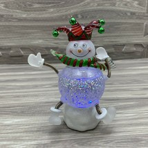 Department 56 Snow Glows Christmas Snowman Lights Up in Box - $15.00