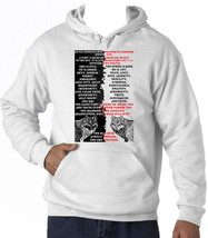 An Old Cherokee Chief Wolves Quote - New Cotton White Hoodie - $39.39