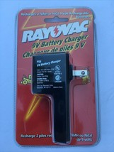 RAYOVAC 9V Battery Charger PS9 for 2 NiMH or NiCd 9V Rechargeable Batteries - $5.60