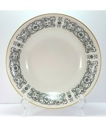"Mikasa Riviera 205 Round Vegetable Serving Bowl Ivory Black Scrolls 9-5/8"" - $31.68"