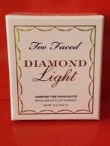 Too Faced DIAMOND LIGHT Fancy Pink Diamond Fire Highlighter - Authentic - $34.60