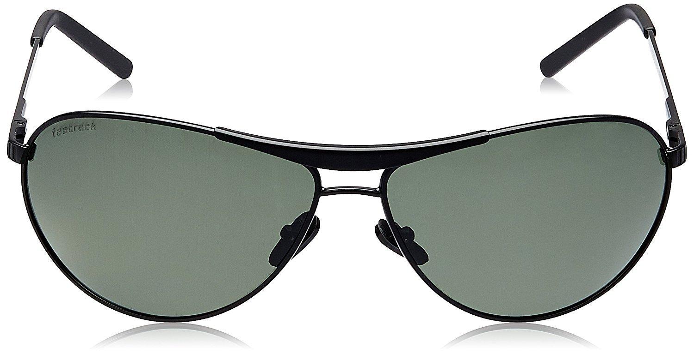 Fastrack Aviator unisex Sunglasses (M062GR2Grey)