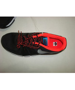 New Mens Nike Running Shoes Training Black Orange Red Silver 9 Casual Sn... - $115.00