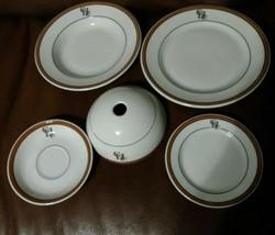 5 pieces HERSHEYS GOLF CLUB Carr China restaurant - $37.39