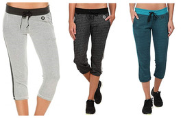 Hurley Junior Women's Dri-Fit Crop Fleece Pant by NIKE Pants Licensed NEW