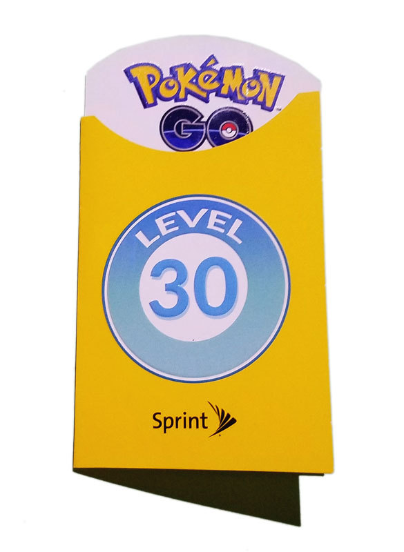 Pokemon Go Level 30 Trainer Badge * Chicago Fest 2017 Sprint Patch