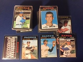 1971 Topps Baseball 150 Cards High Number Lot 504-740's Ex - Ex Mint Condition++ - $188.50