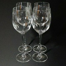 4 (Four) LENOX TUSCANY CLASSICS Crystal Tall Water Glasses- Signed - $61.74