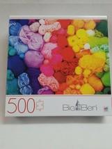 Rainbow Yarn 500 pcs Jigsaw Puzzle Big Ben New in Box Milton Bradley - $24.99