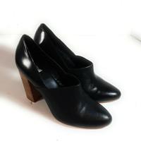Kate Spade Saturday Black Womens Heels Shoes Size 10 - $30.09