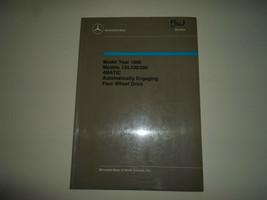 1990 Mercedes Benz 124.230/290 4MATIC Automatisch Einbindung 4WD Shop Ma... - $41.54