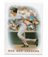 1986 Topps Boston Red Sox Team Set With Traded Cards - $5.50