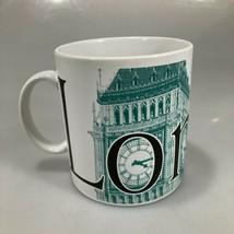 Starbucks London Big Ben City Series 18oz Coffee Mug 1994 Jerry Greer Ja... - $27.93