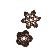 Cousin 34708286 Jewelry Basics 60-Piece Copper Mixed Cap Bead - $12.99