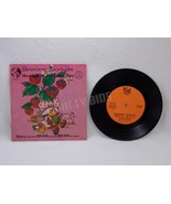 Strawberry Shortcake Meets the Spelling Bee 33 1/3 RPM Vinyl Record & Bo... - $9.89