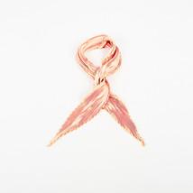 Hermes Pink Gold Silk Plisse Scarf - $305.00