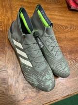 adidas predator 19.1 fg Primeknit Control Skin Legacy Green Size Mans 9.... - $168.30