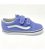 Vans Old Skool V Pale Iris Violet True White Baby Toddler Shoes - $39.95