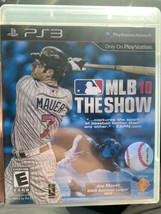 Mlb 10: The Show Sony Play Station 3 PS3 Complete - Free Shipping - $7.91
