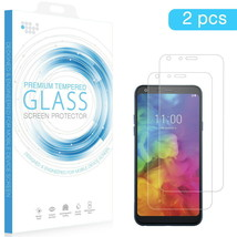 LG Q7 / LG Q7+ TEMPERED GLASS SCREEN PROTECTOR 0.26MM ARCING – 2PCS - $7.99