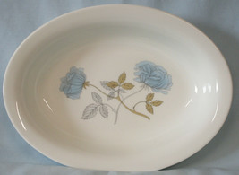 """Wedgwood Iced Rose Oval Serving Bowl 10"""" - $34.54"""