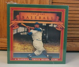 Game of Baseball Trivia Board Game NEW Sealed 1989 Golden Era - $9.89